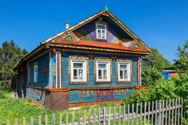 Traditional house in Goritsy