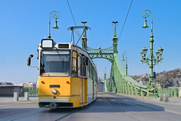 The iconic trams of Budapest