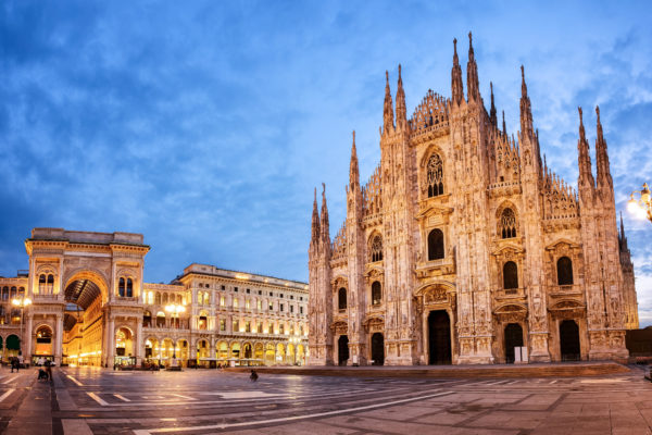 Milan's magnificent Gothic Duomo Cathedral