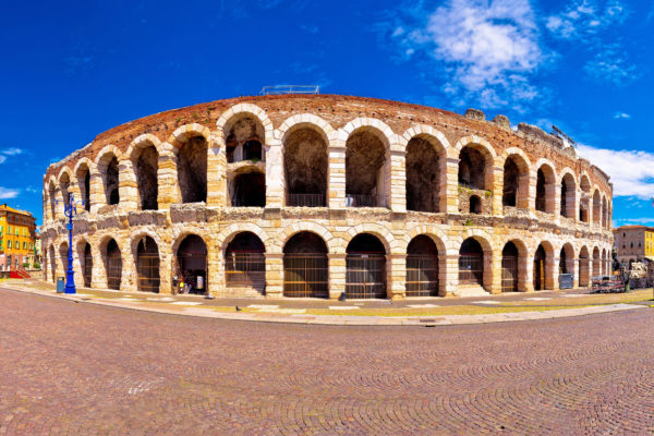 First century amphitheatre in Verona