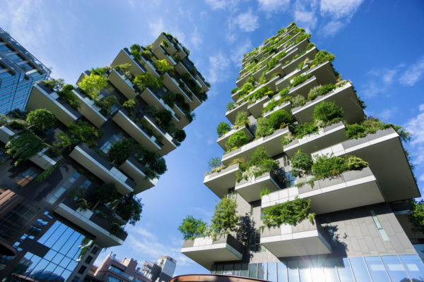 Milan's sustainable architecture